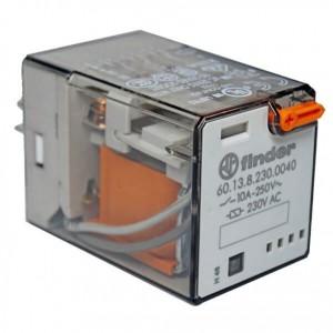 رله فیندر (finder) 11 پایه 10 آمپر 220 ولت 230 بوبین(مدل 60.13.8.230.0040)