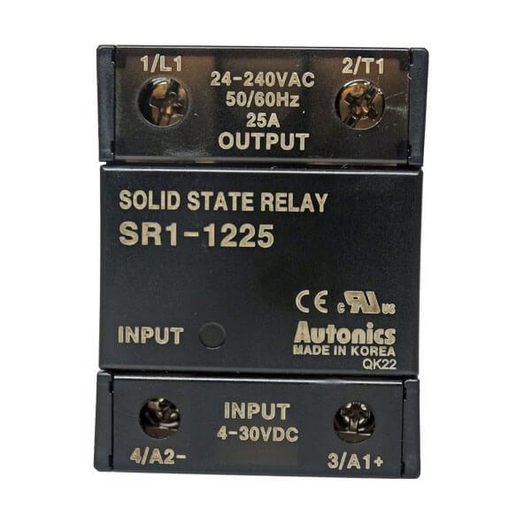 رله اس اس آر(SSR) آتونیکس تکفاز(مدل SR1-1225)