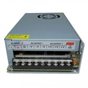 منبع تغذیه سوئیچنگ فن دار 12ولت 20 آمپر(مدل p-250-12)