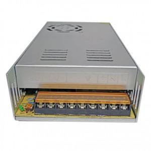 منبع تغذیه سوئیچنگ فن دار 12ولت 30 آمپر(مدل S-360-12)
